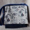 Gyerek táska, Baba-mama-gyerek, Táska, Ruha, divat, cipő, Válltáska, oldaltáska, Vastag vászon gyerek táska, vászon béléssel és állítható vállpánttal.   méret: 17x17x4,5 cm vállpánt..., Meska