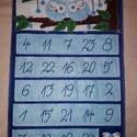 Bagoly adventi naptár, Dekoráció, Ünnepi dekoráció, Karácsonyi, adventi apróságok, Adventi naptár, Az adventi időszak örömét és meghittségét semmi sem teszi tökéletesebbé, mint a családdal együtt töl..., Meska