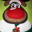Adventi naptár - Rudolf, Dekoráció, Ünnepi dekoráció, Karácsonyi, adventi apróságok, Adventi naptár, Az adventi időszak örömét és meghittségét semmi sem teszi tökéletesebbé, mint a családdal együtt töl..., Meska