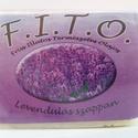 F.I.T.O. Levendulás szappan, Szépségápolás, Szappan, tisztálkodószer, Natúrszappan, Növényi alapanyagú szappan, Szappankészítés, A FITO egy valódi szappan, mely tradicionális, meleg eljárással, kézműves módszerrel készül.  A kif..., Meska