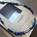 Lapisz lazuli-felhőjáspis férfi nyaklánc, Ékszer, óra, Férfiaknak, Nyaklánc, Óra, ékszer, kiegészítő, Ékszerkészítés, A francia író Poust megállt egy kép előtt Hollandiában és kijelenttete a világ legszebb festménye e..., Meska