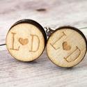 Gravírozott fa mandzsettagomb, Az apró részletek is fontosak egy esküvő megte...