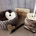 Esküvői vendégkönyv - felfűzhető szívek, Különleges megoldás, az esküvői vendégkönyv...