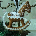 Hintalovacska, Otthon, lakberendezés, Filcből készítettem ezt a karácsonyi dekorációt. Aprólékos kidolgozás, minőségi anyag fel..., Meska