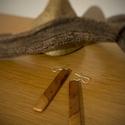 Szilvafa hosszú fülbevaló, Gyönyörű mintázat, de egyszerű forma.  Ajánl...