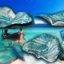 tengerkék szappantartó/5, Otthon, lakberendezés, A tengerkék kollekció darabja.  Nagyon jó ezeket a szappantartókat készíteni, mert olyan forma-gazda..., Meska
