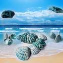 tengerkék kagylós szélcsengő, Tengerkék kagylók ugyan nincsenek a természetbe...
