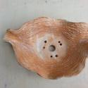 kurama bonsai tál, Otthon, lakberendezés, Kaspó, virágtartó, váza, korsó, cserép, Fagytűrő vörös agyagból készült, szabálytalan bonsai vagy kusamono beültetéshez.  Teljesen egyedi da..., Meska