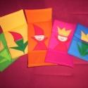 Tulipánból paprika....5db-os csomag, Játék, Baba-mama-gyerek, Plüssállat, rongyjáték, Játékfigura, Patchwork, foltvarrás,  Tulipánból paprika,paprikából Jancsika, Jancsikából kis király, kis királyból tulipán!  FIGYELEM!!..., Meska