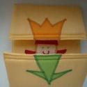 Tulipánból paprika - Vaníliasárga alapon!, Baba-mama-gyerek, Játék, Készségfejlesztő játék, Húsvéti apróságok, Patchwork, foltvarrás, Varrás,  Tulipánból paprika,paprikából Jancsika, Jancsikából kis király, kis királyból tulipán!            ..., Meska