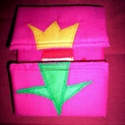 Tulipánból paprika - Pink  alapon! Ajándékba is megkaphatod..., Baba-mama-gyerek, Játék, Plüssállat, rongyjáték, Baba játék, Patchwork, foltvarrás, Varrás,     Tulipánból paprika,paprikából Jancsika, Jancsikából kis király, kis királyból tulipán.   Anyaga..., Meska