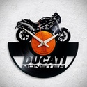 Ducati motorok - 3 féle - Bakelit falióra, A Fonografik bakelitóra nem csak neked fog tetsze...