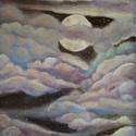 Purple dream, Művészet, Festmény, Akril, Festészet, Akrilfestmény 30*40 cm vásznon lakkozott  Szállítási költséget Magyarország területén belül nem szá..., Meska