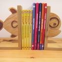 Fa könyvtámasz (hal forma), Gyerek & játék, Otthon & lakás, Gyerekszoba, Lakberendezés, Egy kedves rokon kisfiúnak készítettük el első könyvtámaszunkat. Hogy miért éppen hal formát? Nagyon..., Meska