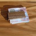 Fa pénzcsipesz, Férfiaknak, Otthon & lakás, Bringás kiegészítők, Ékszer, kiegészítő, Lakberendezés, A képen látható pénzcsipesz diófából készül, de ha szeretné más faanyagból is elkészítjük, pl. csere..., Meska