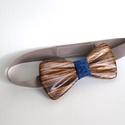 Tömör zebrano fa csokornyakkendő, Férfiaknak, Esküvő, Ruha, divat, cipő, Vőlegényes, Tömör zebrano fából készült prémium minőségű, igazán egyedi csokornyakkendő.  A csokornyakkendő 12 c..., Meska