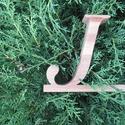 """Mobiltartó """"J"""" betűvel, Otthon & lakás, Dekoráció, Lakberendezés, Tárolóeszköz, Polcra, éjjeli szekrényre, kis asztalra helyezhető, """"J"""" betű formájú asztali mobiltartó.  Anyaga: 28..., Meska"""