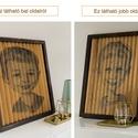 2 kép 1 képben tölgyfából (fali dekoráció), Otthon & lakás, Lakberendezés, Falikép, 2 kép 1 képben!  Egy igazán különleges vizuális illúzió, dekoráció otthonába, irodájába.  Ebben a tö..., Meska