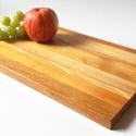 Többféle tömör fából készült vágódeszka, Otthon & lakás, Konyhafelszerelés, Vágódeszka, Különleges megjelenésű és minőségű, többféle faanyag felhasználásával készült vágódeszka.  Ínyencekn..., Meska