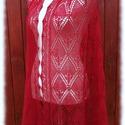 Kármen stóla, Ruha, divat, cipő, Női ruha, Estélyi ruha, Haapsalu sall - így hívják észt nyelven ezt a habkönnyű vállkendőt. Több mint 100 éves hagyománya va..., Meska