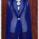 Írisz stóla, Ruha, divat, cipő, Női ruha, Estélyi ruha, Kendő, sál, sapka, kesztyű, Haapsalu sall - így hívják észt nyelven ezt a habkönnyű vállkendőt. Több mint 100 éves hag..., Meska