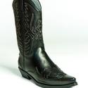 GA Western Csizma, Ruha & Divat, Cipő & Papucs, Bőrművesség, Varrás, Szereted a Western stílust? Egy texasi cowboy bőrébe szeretnél bújni? Vagy csak szereted az igényes..., Meska
