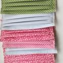 Arcmaszk 100%pamutvászon két rétegű mosható vasalható, Rendelésre készűlt szájmaszkok 100% pamutvász...