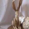 Vintage, vidéki nyuszkó, Ezaz édes vintage nyuszi igazi vidéki hangulatot...