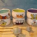 görbe presszókávés  készlet :), Konyhafelszerelés, Esküvő, Bögre, csésze, Nászajándék, 6 db kb. 1 dl-es csészét tartalmaz a készlet. Ezeket az edényeket, családi vállalkozásunkban (18 éve..., Meska