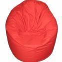 Piros babzsi, Bútor, Otthon, lakberendezés, Mindenmás, Babzsák, Egyszínű, piros babzsi extra kényelem! Felállítva fotelként, fektetve pocolásra használhatod..., Meska