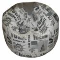 New York-ezüstszürke  multifunkcionális babzsi , Bútor, Dekoráció, Otthon, lakberendezés, Babzsák, CityLife sorozat, multifunkcionális fazonban, kicsiknek-nagyoknak. Különlegessége, hogy rengeteg mód..., Meska