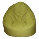 Zöld Relax babzsi, Bútor, Otthon, lakberendezés, Mindenmás, Babzsák, Szélesebb és alacsonyabb fazon, kényelmesen el tudsz benne helyezkedni akár meditációs pózban is. Du..., Meska