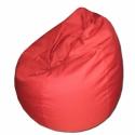 Piros csepp alakú babzsi, Bútor, Otthon, lakberendezés, Mindenmás, Babzsák, Varrás, Csepp alakú, hat cikkből álló fotel, extra minőségű, strapabíró lakástextilből,  felnőtteknek és gy..., Meska