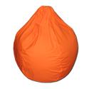 Narancs mini csepp babzsák, Bútor, Otthon, lakberendezés, Mindenmás, Babzsák, Csepp alakú, hat cikkből álló fotel, kisebb méretben. 9-10 éves korig ajánlom, nagyon kényelmes fazo..., Meska