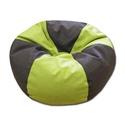 Zöld-sötétbarna babzsákfotel gömböc, Bútor, Dekoráció, Mindenmás, Otthon, lakberendezés, 6 cikkes gömböc formájú babzsákfotel. Dupla huzatos, strapabíró lakástextilből készült, u..., Meska