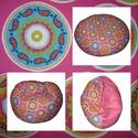 Pink-mandala  multifunkcionális babzsi , Bútor, Dekoráció, Otthon, lakberendezés, Babzsák, Varrás, Gyönyörű,élénk színű babzsák multifunkcionális fazonban, kicsiknek-nagyoknak. Különlegessége, hogy ..., Meska