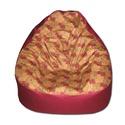 Elefántos bordó-arany Relax babzsák, Bútor, Otthon, lakberendezés, Mindenmás, Babzsák, Varrás, Szélesebb és alacsonyabb fazon gyönyörű, egyedi textilből, kényelmesen el tudsz benne helyezkedni a..., Meska