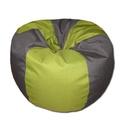 Szürk - zöld csepp alakú babzsi, Bútor, Otthon, lakberendezés, Mindenmás, Babzsák, Csepp alakú, hat cikkből álló fotel extra minőségű lakástextilből, felnőtteknek és gyerekeknek egyar..., Meska