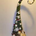 GRINCS fa-karácsonyi  dekoráció, Dekoráció, Karácsonyi, adventi apróságok, Karácsonyi dekoráció, Dísz, Karácsonyi lakásdekoráció díszítheti otthonod ünnepek idején  méret. mag 67cm kaspo méret átmérő 10c..., Meska