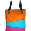 Clean-cut, Táska, Válltáska, oldaltáska, Varrás, Modern táska zipzárral, belső zsebbel. A táska bevasalható vászon merevítővel van megerősítve.   Tá..., Meska