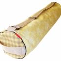 Crayon jóga, Táska, Válltáska, oldaltáska, Varrás, Jóga táska zipzárral. Egy nagy tépőzáras zsebbel és egy kisebb 2 részes zipzáros zsebbel. A táska b..., Meska