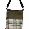 Urban hunter, Táska, Válltáska, oldaltáska, Állítható méretű táska. Zipzárral, belső zsebbel. A táska bevaslható vászon merevítővel..., Meska