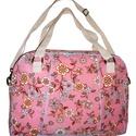 Pink dream táska AKCIÓ, Táska, Válltáska, oldaltáska, Virágos kordbársony táska zipzárral. Elöl egy nagyobb zsebbel. A táska bevasalható vászon me..., Meska