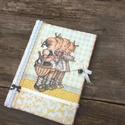 Egy szép nap!, Nosztalgia receptfüzet , Mindenmás, Naptár, képeslap, album, Baba-mama-gyerek, Jegyzetfüzet, napló, Decoupage, transzfer és szalvétatechnika, Recepteknek vagy kedvenc ételeid receptjének egy különleges napló a nosztalgia jegyében.  A naplót ..., Meska