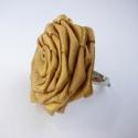 Óarany rózsa, Ékszer, Gyűrű, Talán az egyik legegyszerűbb rózsatípus, mégis nagyon mutatós! (Sok változata van - én így ..., Meska