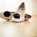 Cipőklipsz , Dekoráció, Esküvő, Cipő, cipőklipsz, A legegyszerűbb cipő is feldobható vele egy-egy alkalomra.   Kiváló minőségű fekete szaténból készít..., Meska