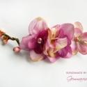 Tavasz hajdísz, Ezt a hajdíszt élethű textilvirágok, s apró r...