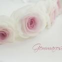 Rózsaszín virágkoszorú, Baba-mama-gyerek, Esküvő, Koszorúslányoknak, menyasszonyoknak vagy akár fotózási kelléknek ajánlom ezt a rózsás koszorút,melyn..., Meska