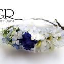 Virágkoszorú - margarétás, Koszorúslányoknak, menyasszonyoknak vagy akár f...