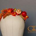 Őszi virágkoszorú III. , Baba-mama-gyerek, Kismama- és baba-mama FOTÓSOK figyelem! Elkészültek az őszi fotózási fejdíszek (elsősorban) kislányo..., Meska